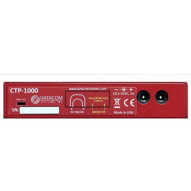 DATACOM CTP-1000 10/100/1000BASE-T Network TAP 銅纜/電介面 2