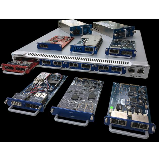 SmartNA-X 模組式 1/10G 網路流量複製分流器 1