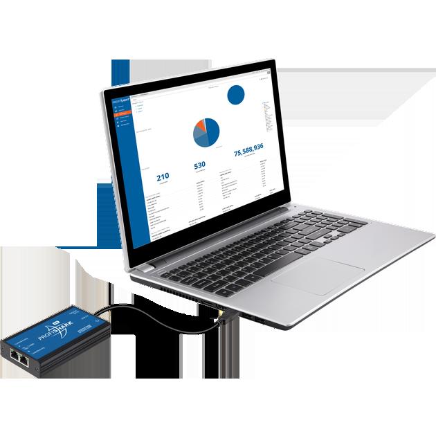 ProfiShark 1G 10G 口袋型側錄式Network TAP 3