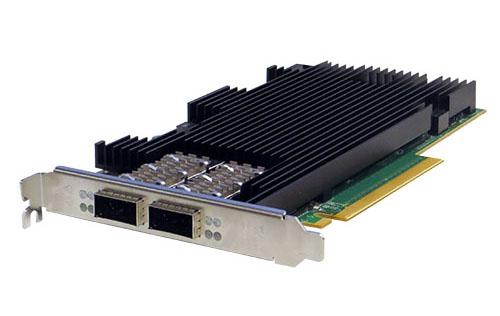 Silicom內容感知分流伺服器卡<br/>PE3100G2DQIR 1