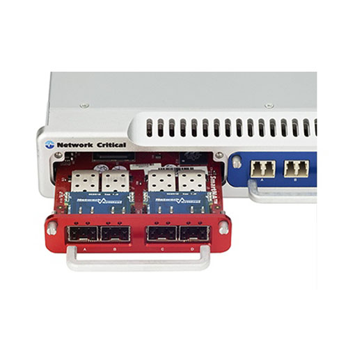 SmartNA-X 模組式 1/10G 網路流量複製分流器 4